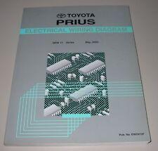 Werkstatthandbuch Electrical Wiring Diagram Toyota Prius NHW 11 Manual 05/2000!
