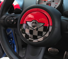Mini Cooper Steering Wheel Sticker Badge Logo Decal R55 R56 R60 JCW