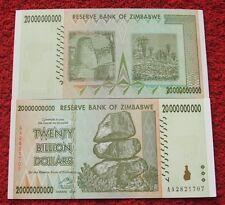 ZIMBABWE 200 MIILLION DOLLARS AA SERIES 2008 UNC TWO HUNDRED MIILLION DOLLARS