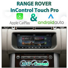 Range Rover InControl Touch Pro Apple CarPlay & Android Auto Integration