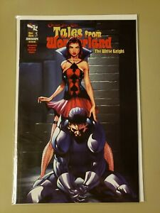 Tales from Wonderland The White Knight cover B zenescope Grimm Fairy Tales