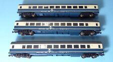Piko 57611 Set Konvolut 3 Stück IC Großraumwagen 2. Klasse Bpmz291.2 der DB