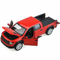 Ford Raptor F-150 Pickup Truck 1:32 Model Car Diecast Gift Toy Vehicle Red Kids