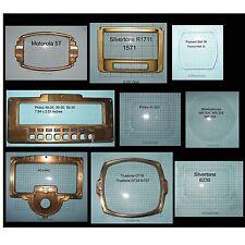 Antique Radio Dial Covers  M-W Motorola Philco Silvertone Truetone Westinghouse