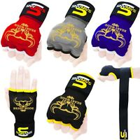 Gel Gloves Punch Bag Hand Quick Wrap Boxing Padded Inner UFC Gear MMA Protector