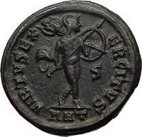 MAXIMINUS II DAIA Authentic Ancient 310AD Antioch Follis Roman Coin MARS i71198