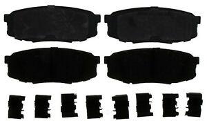 Disc Brake Pad Set-Ceramic Disc Brake Pad Rear ACDelco Pro Brakes 17D1304CH
