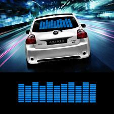 Zone Tech Ton Musik Beat Aktiviert Auto Sticker Equalizer Glow LED Licht Blau