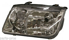 New Replacement Headlight LH / FOR 2000-01 & EARLY 2002 JETTA W/O FOG LIGHTS