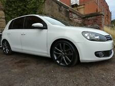 VW Golf Mk6 GT TSi White 2009 - Damaged