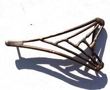 Vintage 1960s Artists Brass Modernist Belt Buckle Pendant Abstract Organic #63