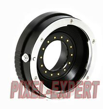 ADATTATORE PER CANON EOS SONY NEX ADAPTER RING ANELLO CAMERA E-MOUNT A6500 A6300