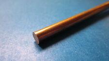 """.125"""" (1/8) x 24"""" Copper Rod, C110 Round Bar, 110"""