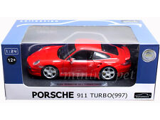 AUTOMAXX 850105 PORSCHE 911 997 TURBO 1/24 DIECAST RED