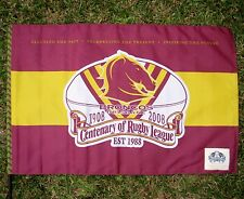 NRL BRISBANE BRONCOS FLAG Centenary 900mm x 600mm Large  - NEW!