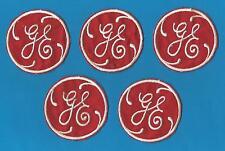 5 Lot Rare Vintage 1960's G E General Electric Uniform Jacket Patches Crests B