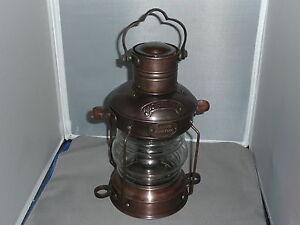 ANCHOR  LAMP   Maritime Lamp  Nautical Decor