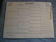 Finnish Spitz Blank Pedigree Sheets Pack 10 dog canine