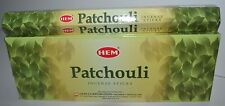 Hem Patchouli Incense Bulk 6 x 20 Stick Box 120 Sticks (Patchouly) Wicca Pagan!