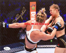 UFC HOLLY HOLM SIGNED 8X10 PHOTO ROUSEY REPRINT