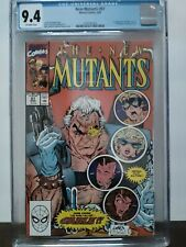 New Mutants #87 (Marvel 1990) 1st App of Cable and Stryfe! CGC 9.4 NM! Off W Pgs