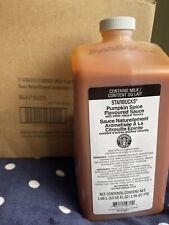 starbucks New  pumpkin spice sauce 1/2022