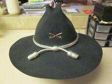"U. S. Army Cavalry Senior Warrant Officer'S Hat ""Very Good Used Condition"" Look!"