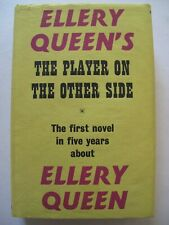 """Ellery Queen"" (Theodore Sturgeon)– THE PLAYER ON THE OTHER SIDE (1963)– Mystery"