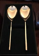 Arthur Price Llewelyn-Bowen Set Of 2 Large FEAST Serving Spoons in Gift Box