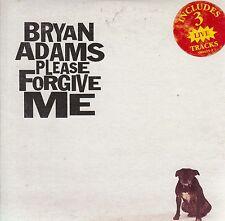 BRYAN ADAMS Please Forgive Me CD Single - Card Sleeve