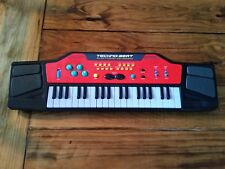 Techno-Beat Electronic Keyboard Manley 2005 Black & Red TESTED WORKS
