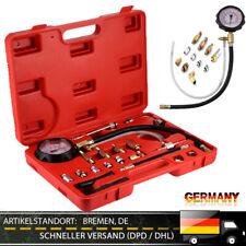 Auto Öldrucktester Benzin Druckprüfer Einspritzanlage Messgerät Werkzeug 10 Bar