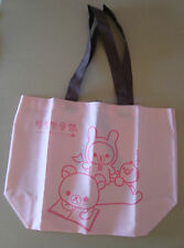 RILAKKUMA BORSA SHOPPING/BAG IN TELA CM.33 X CM.30 X CM.16 SAN-X JAPAN