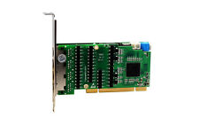 OpenVox DE830P 8 Port T1 E1 J1 PRI PCI Card + EC2256 Module (Low Profile A. Ver)