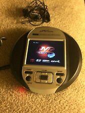 "eMotion 3.5"" Portable DVD/VCD/CD/MP3/MP4 Player Headphones"