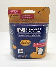 HP Inkjet 49 Economy Tri-color Ink Cartridge 51649G Exp 4/2002
