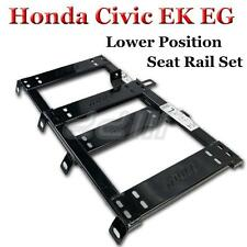 Honda Civic 92-00 Lower Position Seat Rail EK EG fix Recaro Sparco Bride 1 Pair