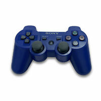 Sony PS3 Playstation DualShock 3 Wireless Bluetooth Controller BLUE New😸😸