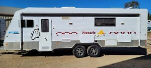 2009 Millard Full Off Road Caravan 25ft Shower Toilet Solar Loaded With Extras