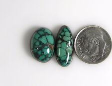 Natural Tibetan Turquoise Colorful Loose Cabs Gems beautiful pure Tibet t007