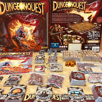 Dungeonquest Third Edition Fantasy Flight Games 2010 Complete!