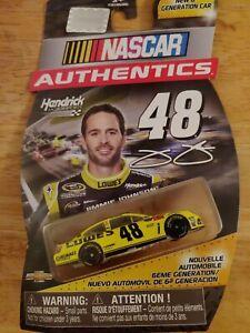NASCAR AUTHENTICS - #48 – Jimmie Johnson – 1/64 – Yellow