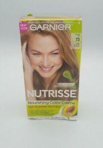 Garnier Nutrisse NOURISHING COLOR CREME 73 Dark Golden Blonde NIB