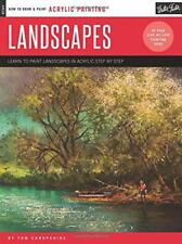 Landscapes: Learn to paint landscapes in acrylic step by step (How to Draw & Pai