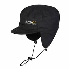 REGATTA MENS PADDED IGNITER TRAPPER STYLE BLACK HAT RMC059