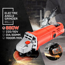 240V Electric Angle Grinder 1400W Corded Heavy Duty Grinding 100mm/105mm