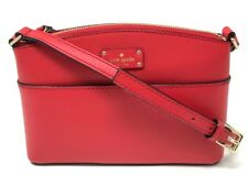 Kate Spade Grove Street Millie Red Leather Crossbody Shoulder Bag WKRU4194