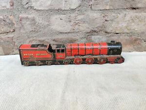Vintage Princess Elizabeth 46200 British Railways Clockwork Tin Toy Train