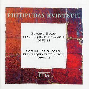 Elgar · Saint-Saëns - Piano Quintets / Pihtipudas Kvintetti