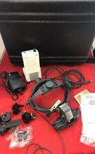 HEINE Omega 500 Unplugged Binocular Headlight w/Power Pack & Accessories in Case
